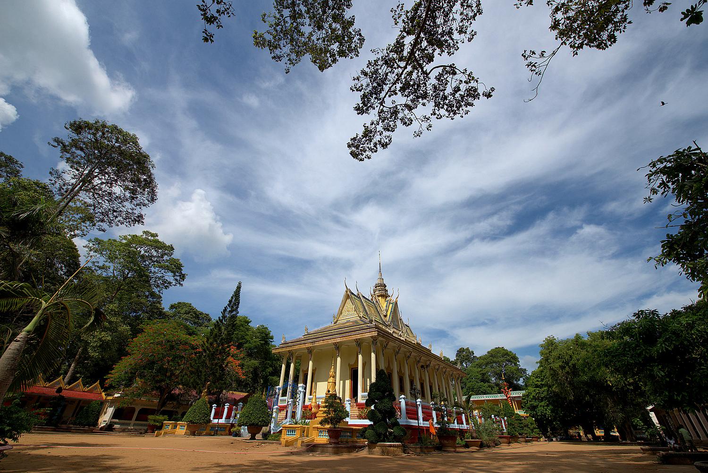 Hang Khmer Pagoda in Tra Vinh