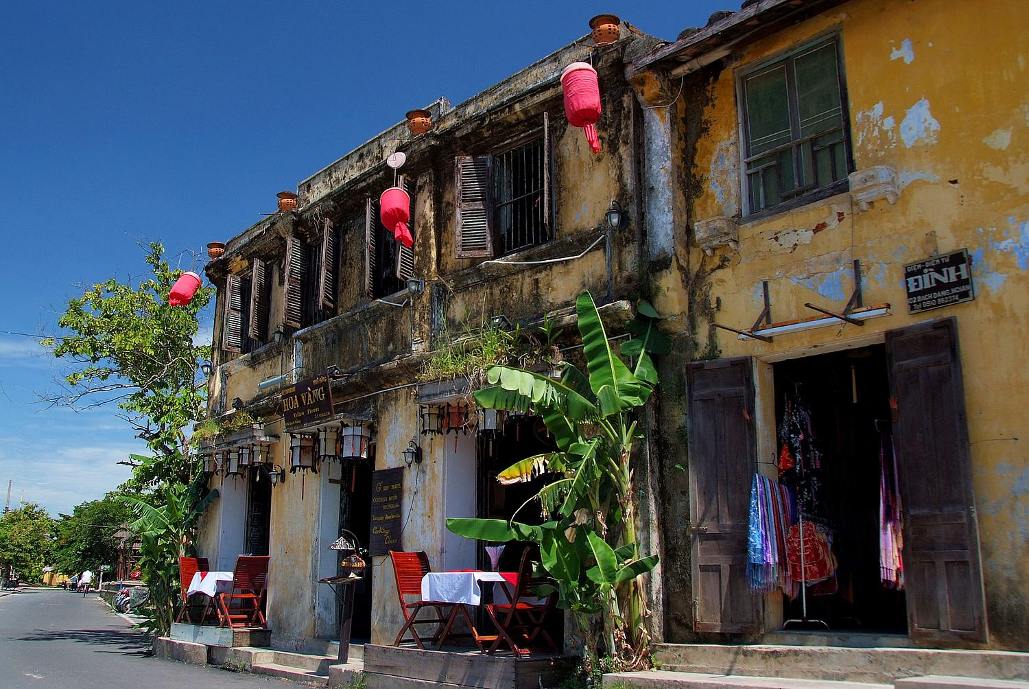 Ancient House and Restaurant in Hoi An