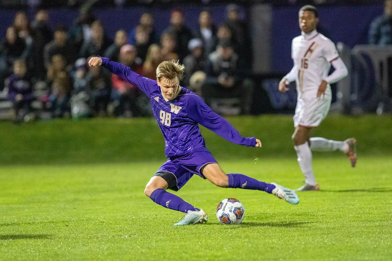NCAA Second Round Men's Soccer Tournament Match - Boston College vs Univerity of Washington