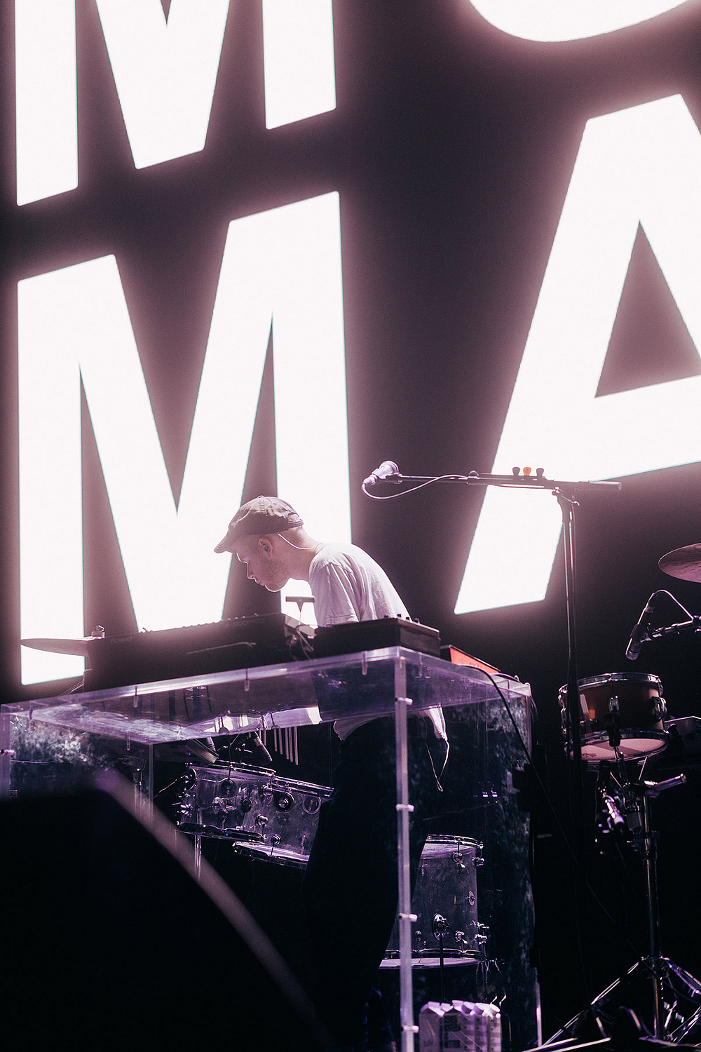 Mura Masa Los Angeles 2018 by Ty Levey