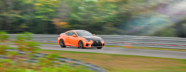 Lexus RC F Action