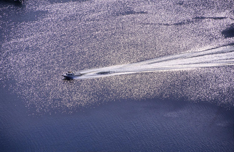 Shimmering Speedboat,Indonesia