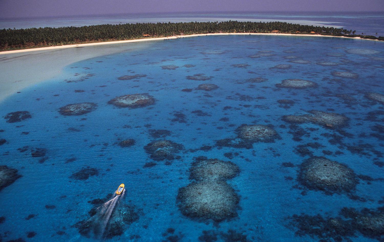 Speedboat Bangaram Island