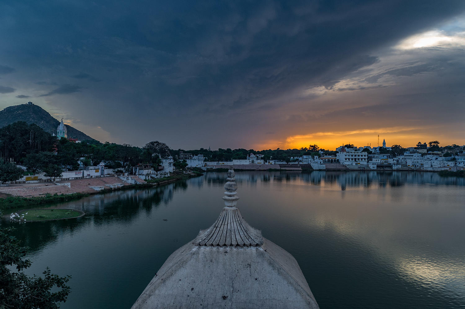 Pushkar Lake Sunset