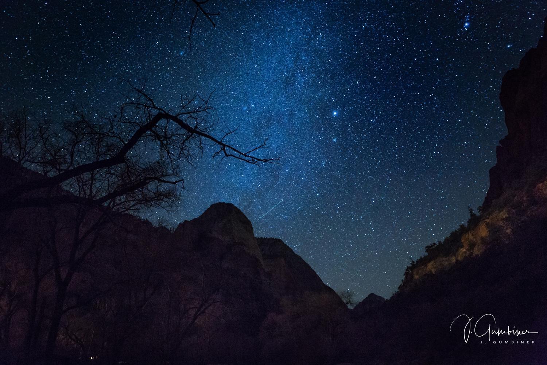 Night Sky - Zion National Park, Utah