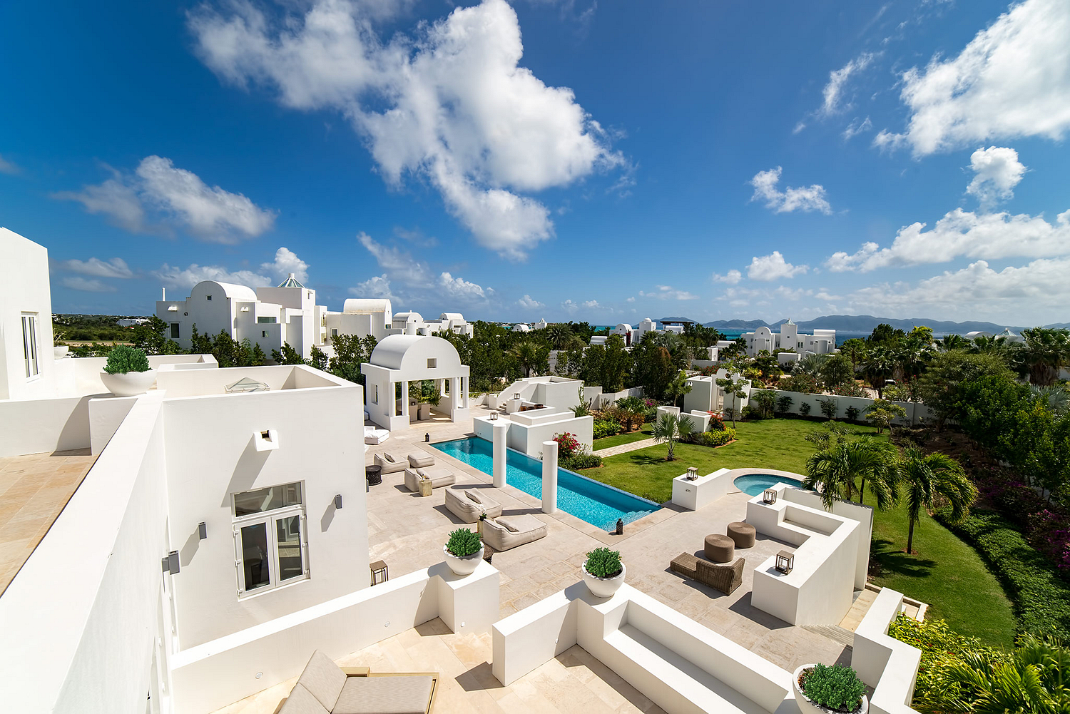 Luxury Villa Patio2, The Residences by CuisinArt, Anguilla