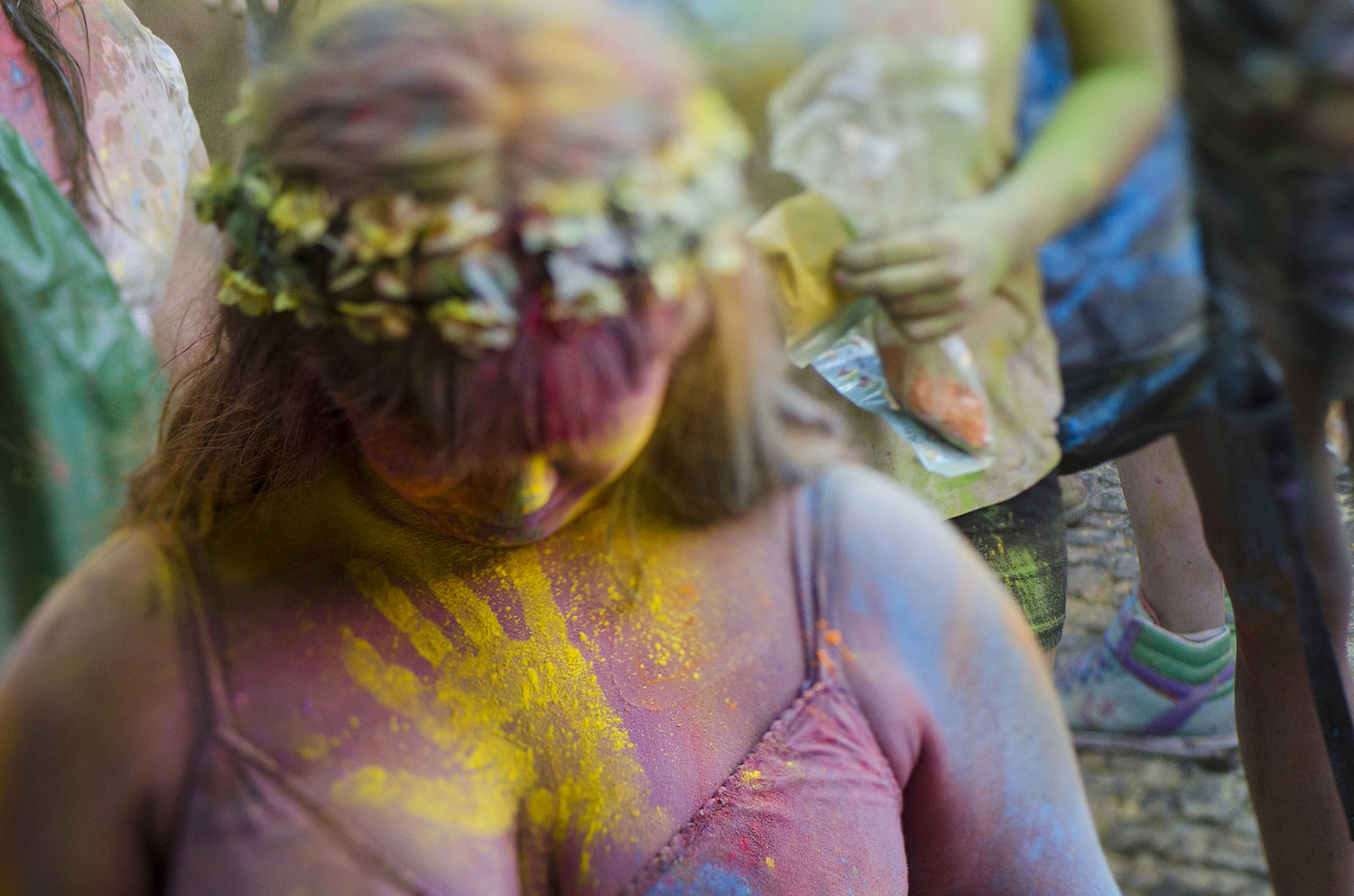 Madrid Monsoon Holi Festival Photo Gallery