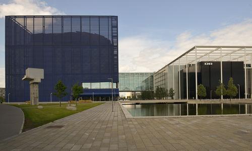 DR Byen, København . national broadcasting complex