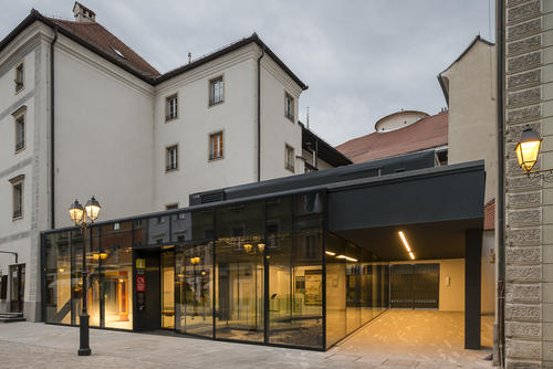The Pavilion for the Presentation of Archaeological Remains & Tourist Information Centre Celje