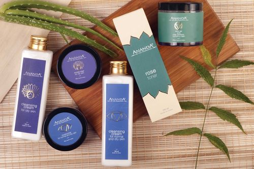 beauty products styling