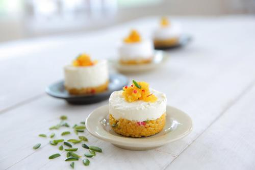 Boondi Cheese cake