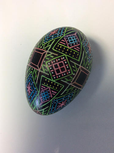 Goose egg, permanent ink
