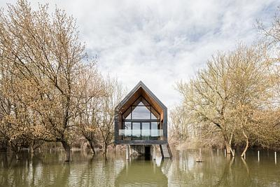 House on a river
