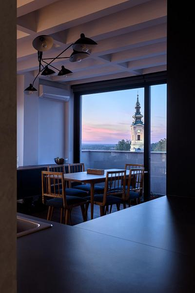 Apartment with a view