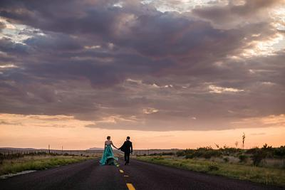 Nell & Clayton - Marfa Texas Elopement