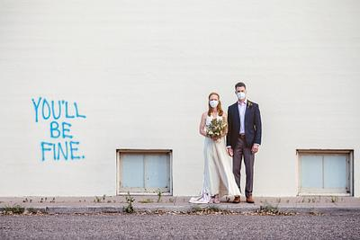 Jennifer & Adam - Marfa Texas Elopement