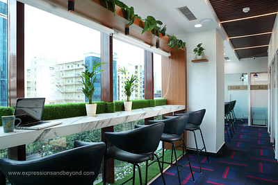Professional interior photography of co-working spaces in Gurgaon, Noida, Delhi & NCR - India