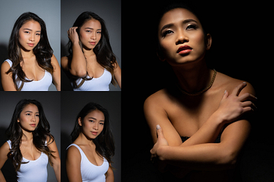 How To: Create Moody Gridded One Light Portraits