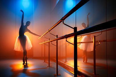Color Gelled Ballet Photos - Christine Shevchenko – Principle, American Ballet Theater