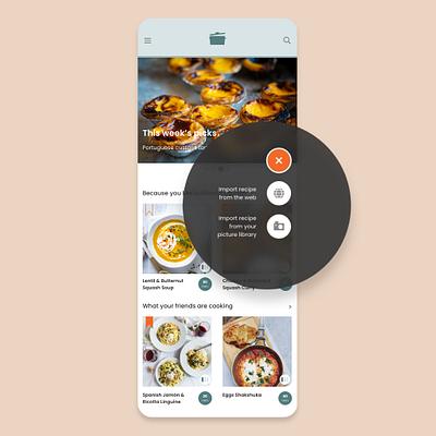 Sizzle | Responsive Web App