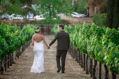 Christine + Austin:  Forgotten Barrel Winery