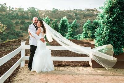 Corina + Michael:  Las Mariposas Estate