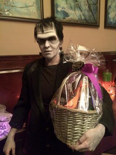 """Halloween makeup and costume, Frankenstein, """"Best Costume"""" winner"""