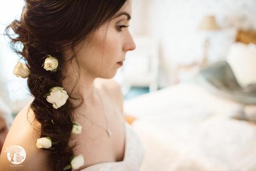Bridal photoshoot makeup