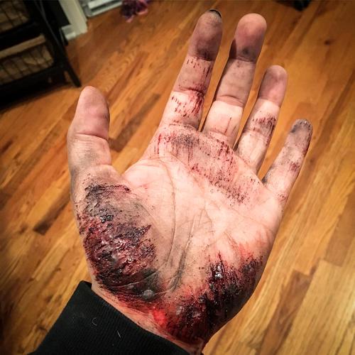 SFX, hand scape