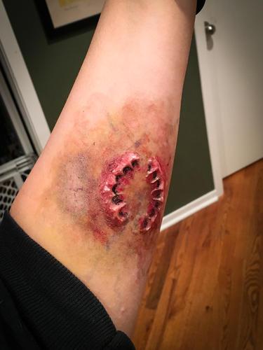SFX, zombie bite