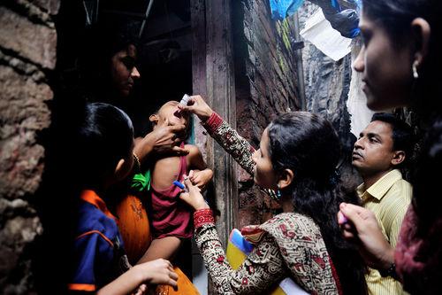 Polio documentation for UNICEF