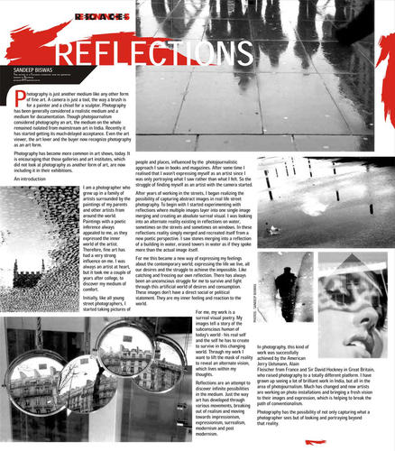 i ( Journal by Visual Art gallery - India habitat Centre)