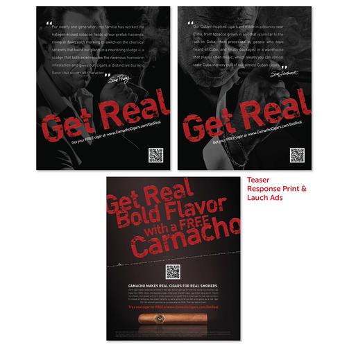 Camacho Pre-Launch Teaser Print