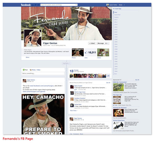 Fernando Facebook Page