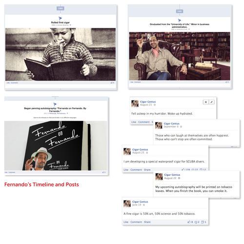 Fernando Facebook Timeline