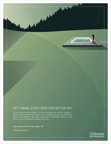 """JP Morgan """"Every Investor Better"""" Campaign"""