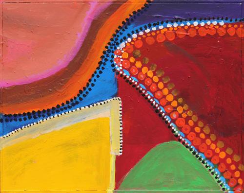 Muster der Aborigines II, 2011