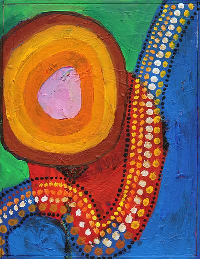 Muster der Aborigines I, 2011