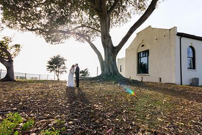 Redondo Beach Historic Library Wedding  Laura+Adam
