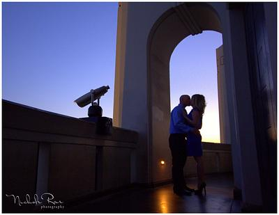 Tokyo Delves & Griffith Observatory Engagment Photography Stephanie+Cole