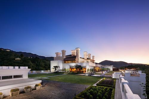 Jaypee Residency Manor - Luxury Hotel Photography in Mussoorie