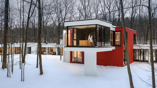 House in the Woods - AIA winner