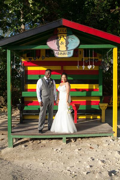 Jeff + Sakina Grand Palladium Resort Jamaica