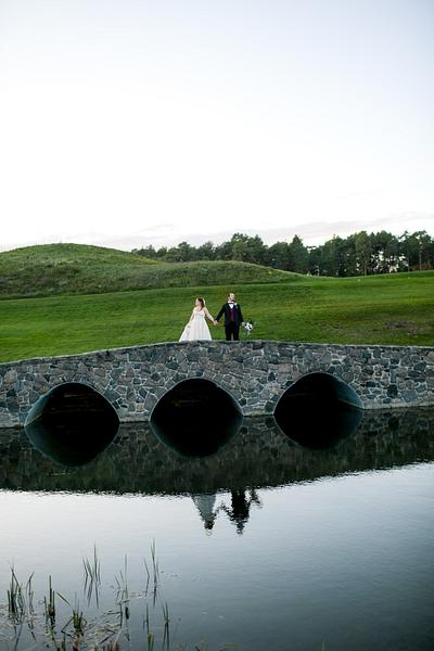 Arp + Katie Wooden Sticks Golf Course Wedding