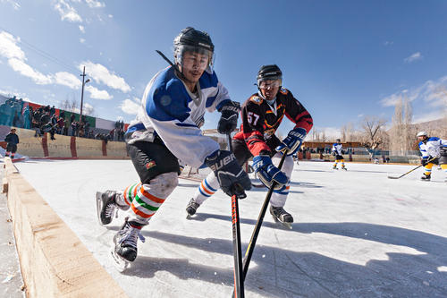 Hockey In The Himalayas