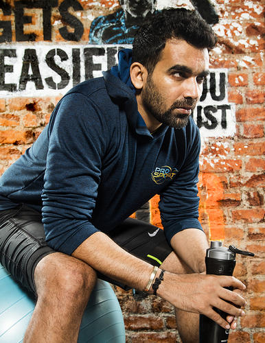 Zaheer Khan for Society