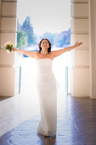 Pasadena City Hall Bridal with Ira