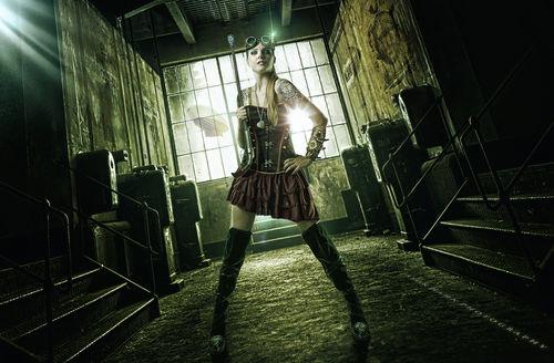 Steam Punk Model: Carli Shepherd