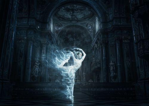 Ghost of the Cathedral. Model photo by RawExchange