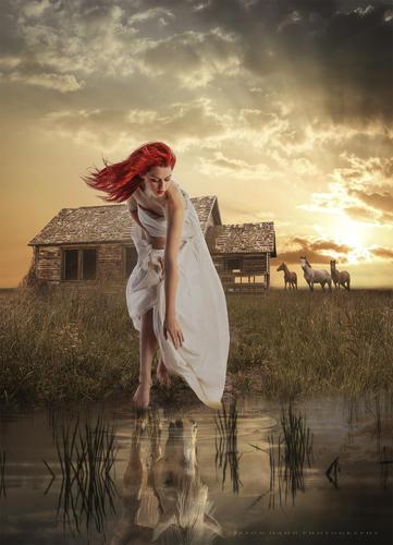Horse Whisperer. Model photo by Faestock